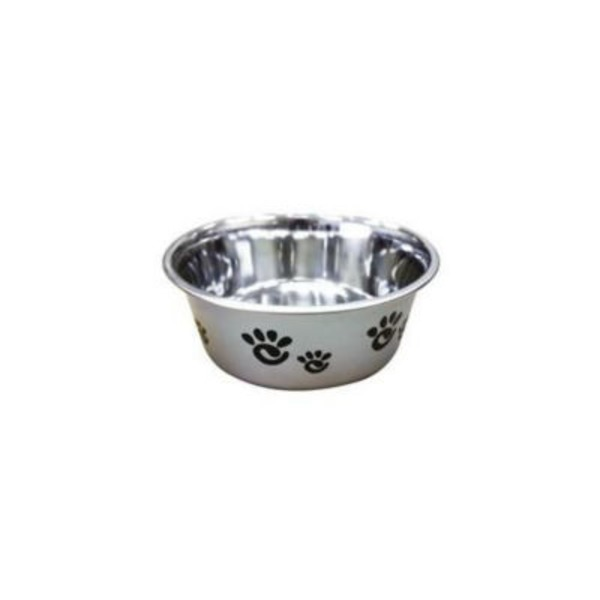 Spot Pearlized Silver 32 Oz Bowl