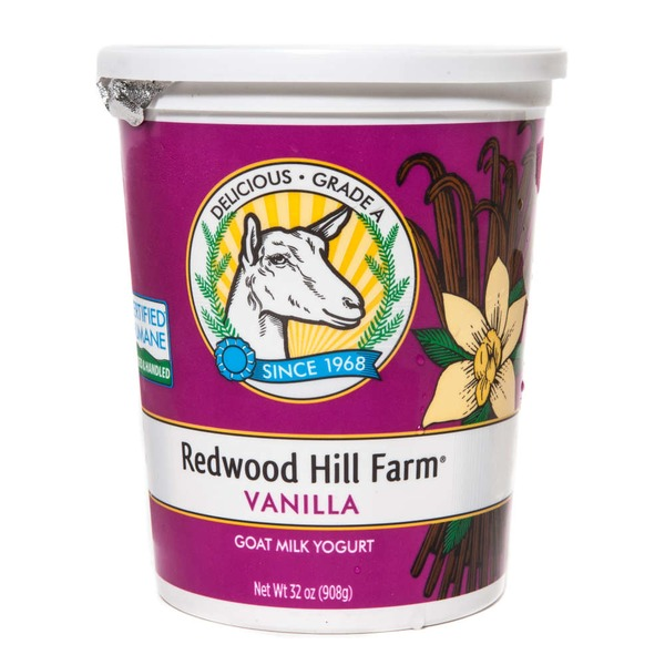 Redwood Hill Farm Vanilla Goats Milk Yogurt