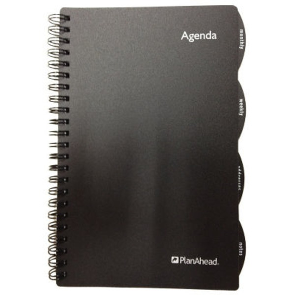 Plan Ahead Undated Agenda Book