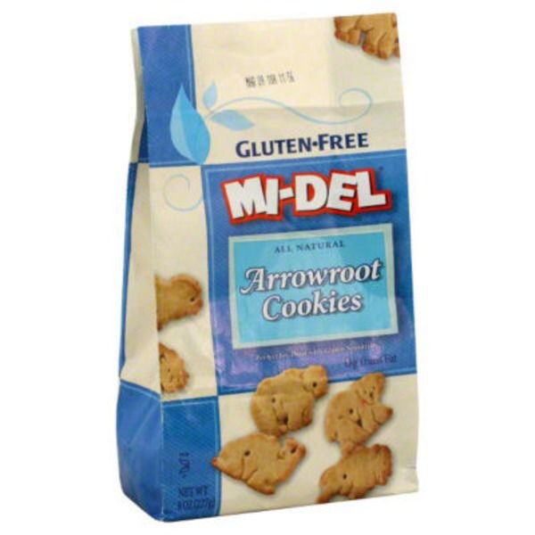 Mi-Del Gluten Free All Natural Arrowroot Cookies