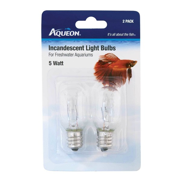 Aqueon 5 Watts Incandescent Bulbs 2.75