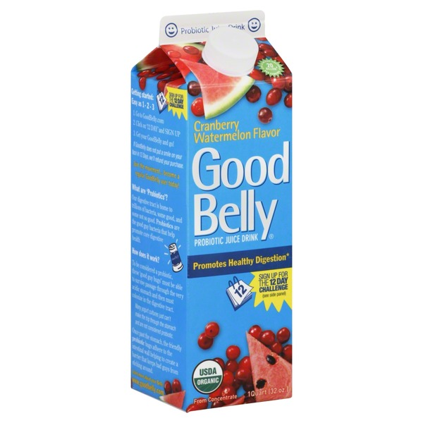 Good Belly Cranberry Watermelon Probiotic Juice Drink