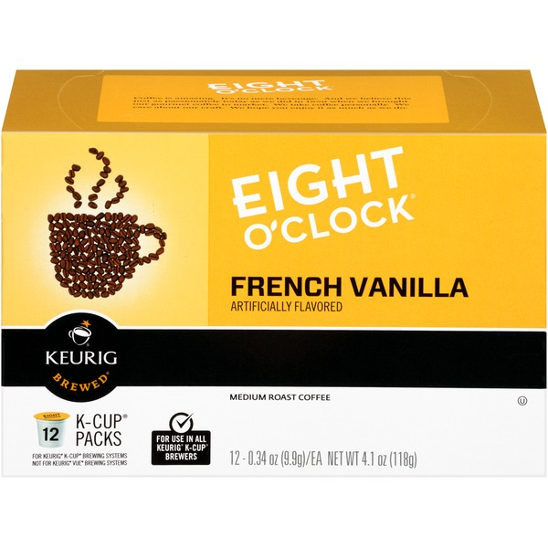Eight O'Clock Coffee French Vanilla K-Cup Packs Coffee