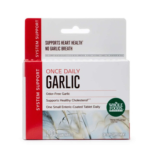 Whole Foods Market Once Daily Garlic Supplement