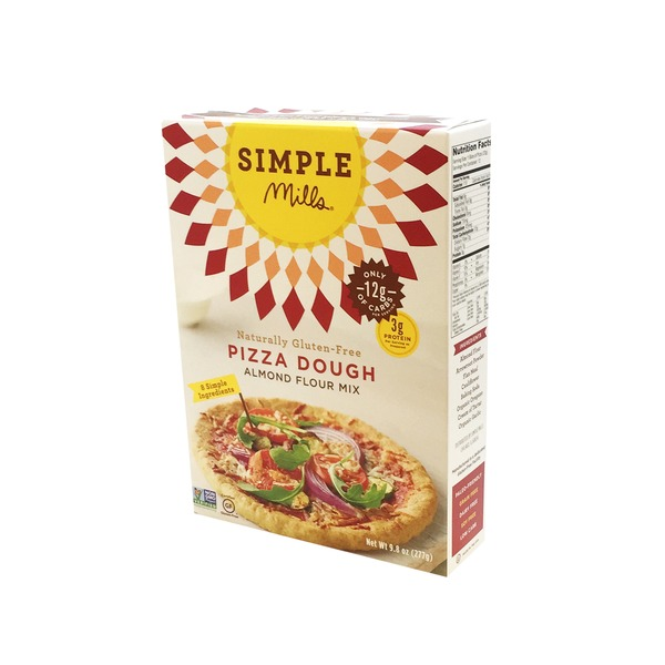 Simple Mills Gluten Free Pizza Dough Almond Flour Mix