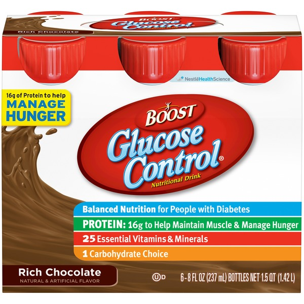 Boost Glucose Control Rich Chocolate Nutritional Drink