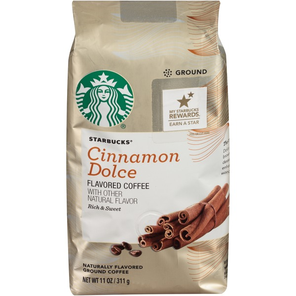 Starbucks Cinnamon Dolce Ground Coffee