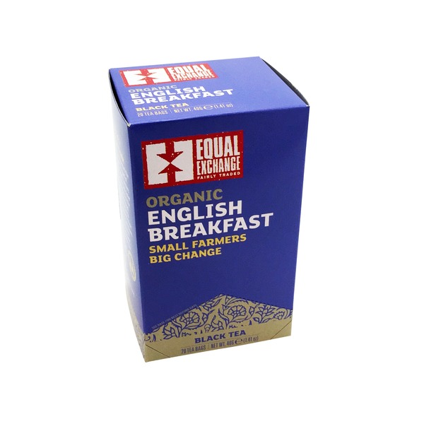 Equal Exchange Organic English Breakfast Black Tea