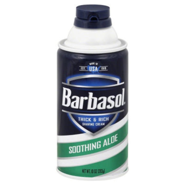 Barbasol Thick & Rich Saving Cream Soothing Aloe
