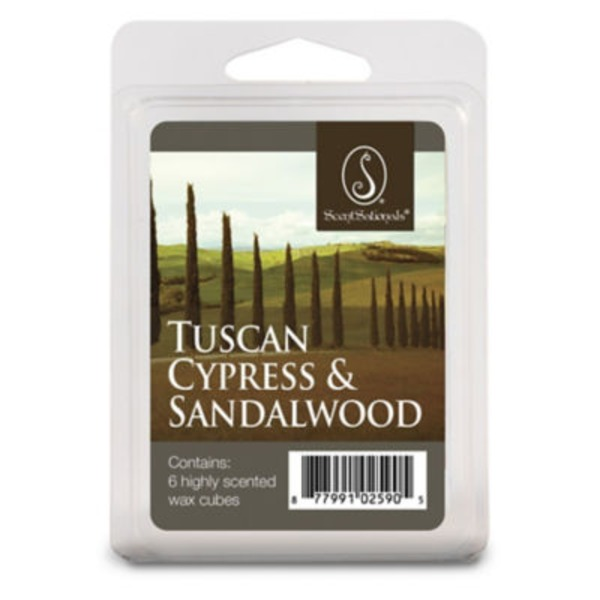 ScentSationals Tuscan Cyprus & Sandalwood Wax