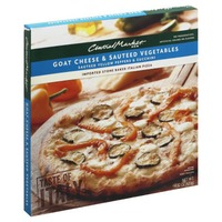 Central Market Goat Cheese & Sautéed Vegetables Italian Pizza