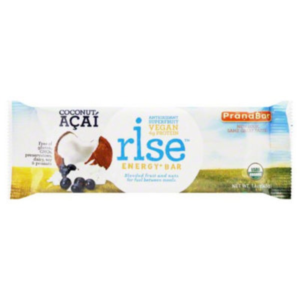 Rise Organic Coconut Acai Energy Bar