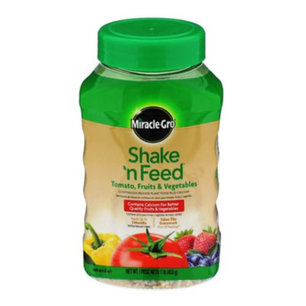 Miracle Gro Shake 'n Feed Tomatoes, Fruits & Vegetables Plant Food
