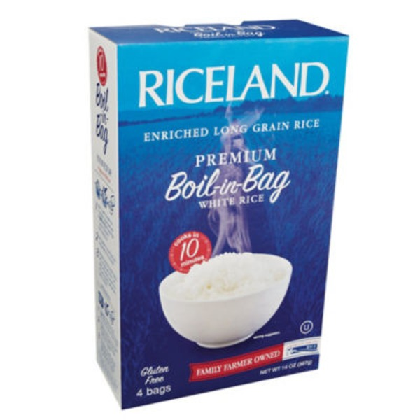 Riceland Premium White Rice Boil in Bag