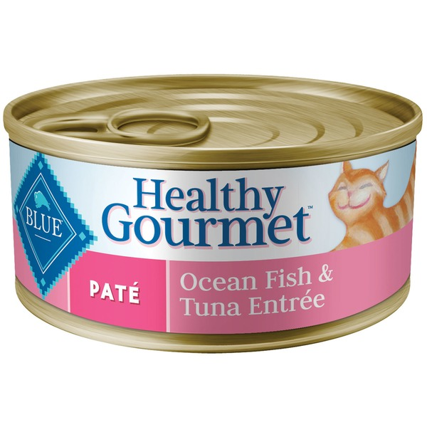Blue Buffalo Healthy Gourmet Ocean Fish & Tuna Entree Pate Cat Food