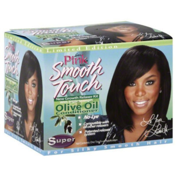 Luster's Pink Luster Pink Smooth Touch Extra Virgin Olive Oil No-Lye Relaxer Super