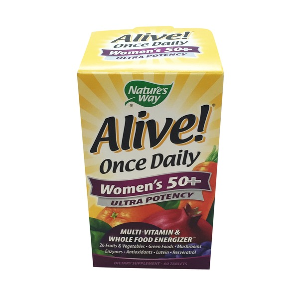 Nature's Way Alive! Once Daily Women's 50+ Ultra Potency Multi-vitamin