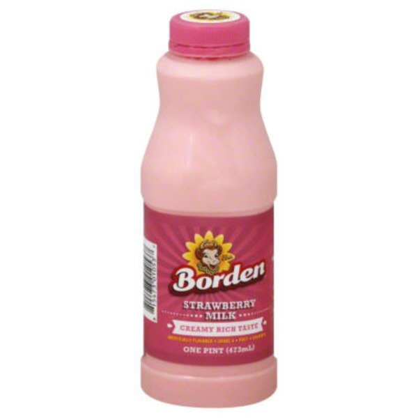 Borden Strawberry Milk