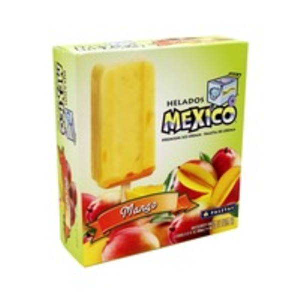 Helados Mexico Mango Premium Ice Cream Bars