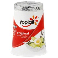 Yoplait Original French Vanilla Low Fat Yogurt