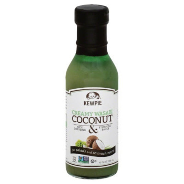 Kewpie Creamy Wasabi Coconut Rich Dressing & Finishing Sauce