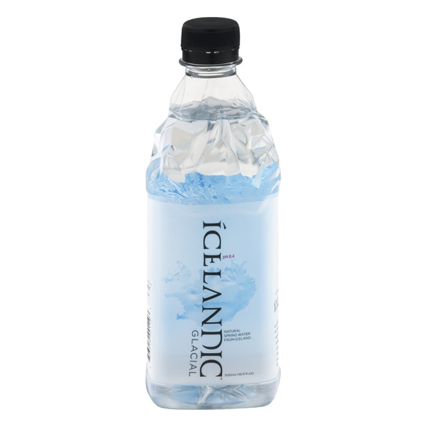 Icelandic Glacial Natural Spring Water From Iceland