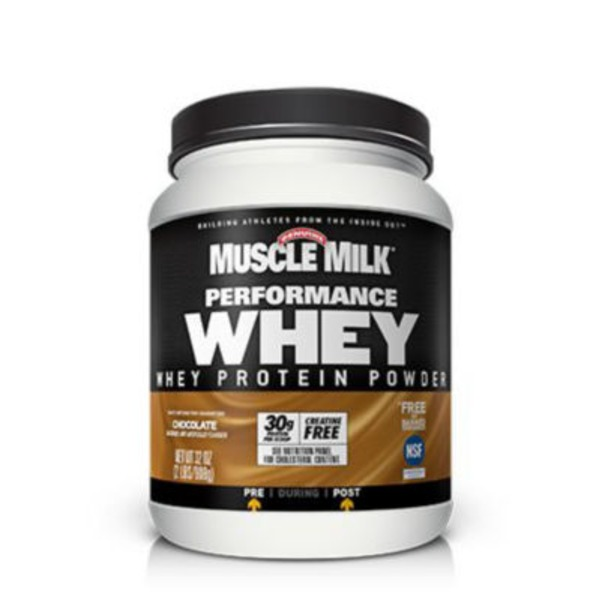 Muscle Milk Performance Whey Protein Powder, Chocolate