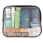 Man on the Go Men's Get Away Travel Kit, 10 pc