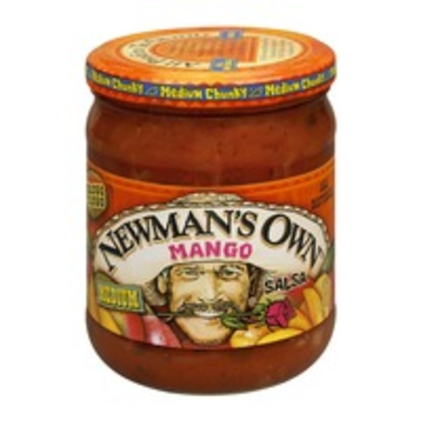 Newman's Own All Natural Medium Mango Salsa