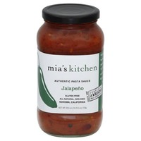 Mia's Kitchen Authentic Jalapeno Pasta Sauce