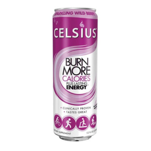 Celsius Live Fit Sparkling Wild Berry Dietary Supplement