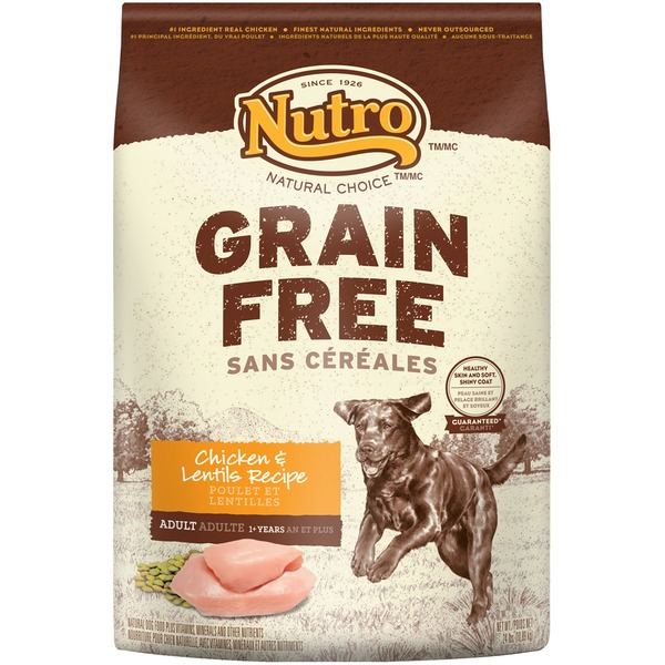 Nutro Natural Choice Grain Free Chicken & Lentils Recipe Dog Food