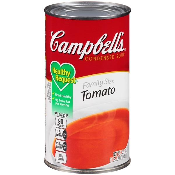 Campbell's Tomato Family Size R&W Condensed Soup