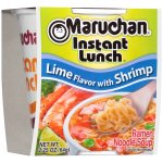 Maruchan Instant Lunch Ramen Noodle Soup Lime Flavor With Shrimp, 2.25 OZ