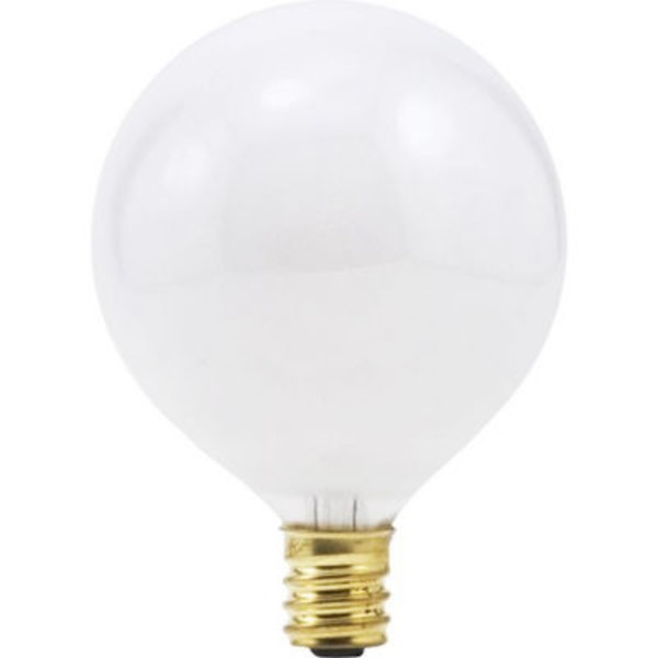 Sylvania G16.5 60 Watt Indoor Small Base Light Bulbs