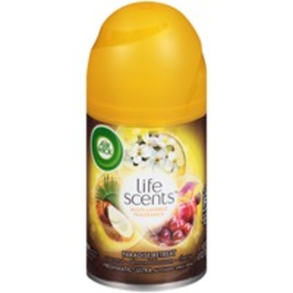 Air Wick Freshmatic Ultra Life Scents Paradise Retreat Automatic Spray Refill