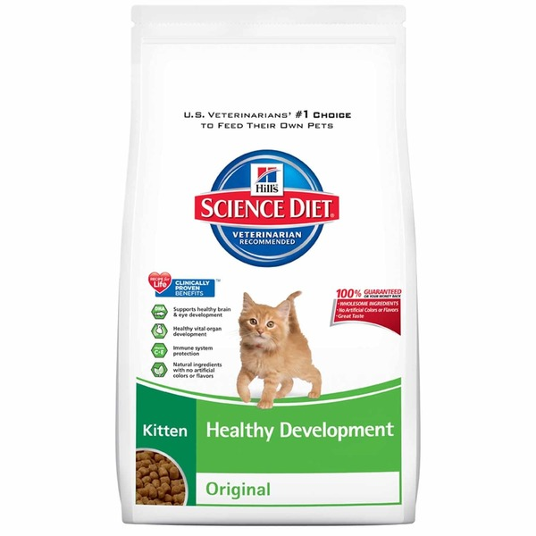 Hill's Science Diet Cat Food, Dry, Kitten (Up to 1 Year), Original