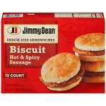 Jimmy Dean Hot & Spicy Sausage Biscuit, 10 count, 17 oz