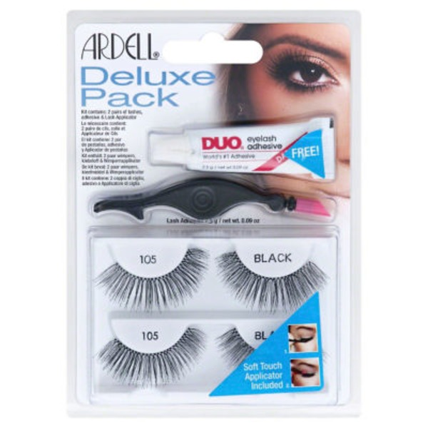 Ardell Deluxe Pack Eyelashes 105 Black