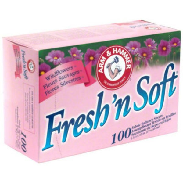 Arm & Hammer Fresh'n Soft Tropical Burst Fabric Softener Sheets