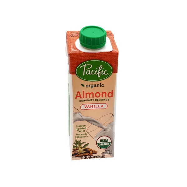 Pacific Foods Organic Low Fat Vanilla Almond Non-Dairy Beverage
