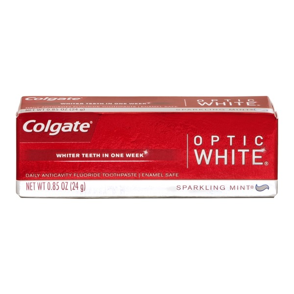 Colgate Daily Anticavity Fluoride Toothpaste Optic White Sparkling Mint