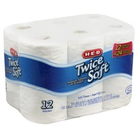 H-E-B Twice As Soft Bath Tissue