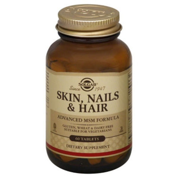 Solgar Skin, Nails & Hair Advanced Msm Formula