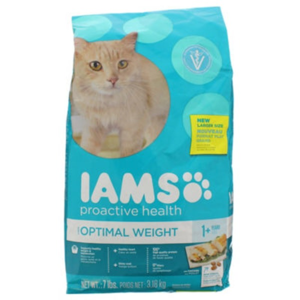 Iams ProActive Health Optimal Weight with Chicken Cat Food