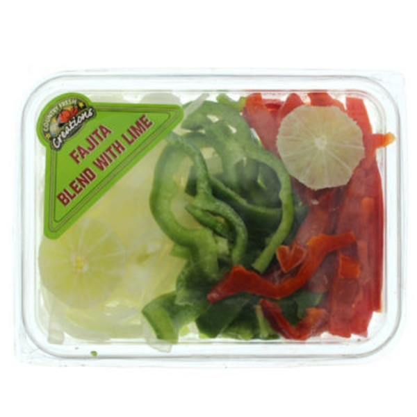 Country Fresh Creations Fajita Blend Vegetables With Lime