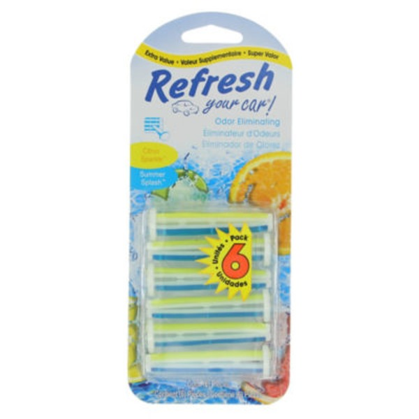 Refresh Your Car Citrus Sparkle\Summer Splash Dual Vent Sticks