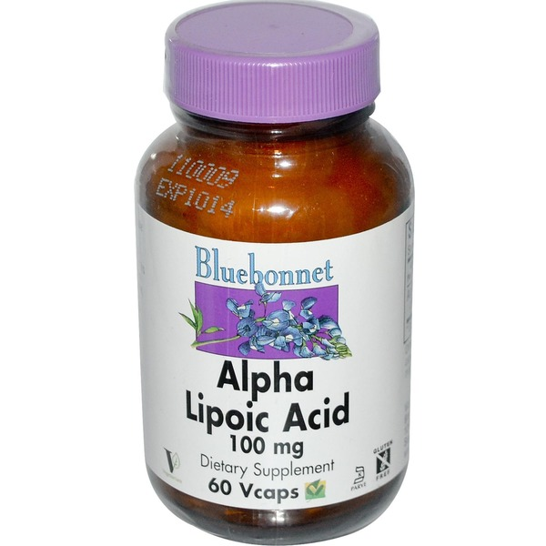 Bluebonnet Alpha Lipoid Acid 100mg 30 Vcaps