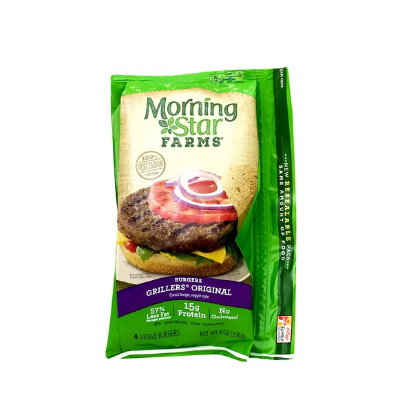 Morning Star Farms Veggie Burgers