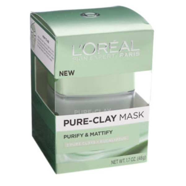 L'Oreal Paris Purify & Mattify Pure-Clay Mask